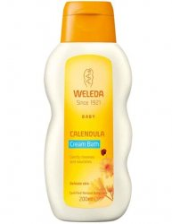 Baby Calendula Cream Bath 200 ml, Weleda