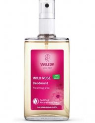 Wild Rose Deodorant Spray 100 ml, Weleda