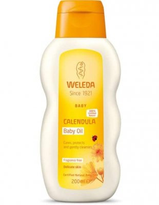 Baby Calendula Oil 200 ml, Weleda