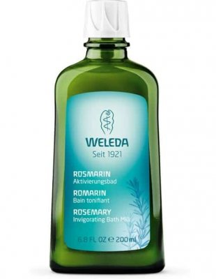 Rosemary Invigorating Bath Milk 200 ml, Weleda